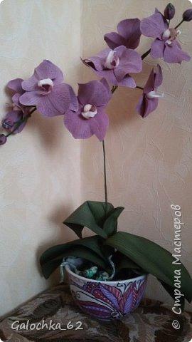 Цветы из фома фото 1