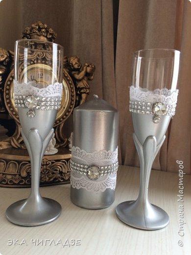 Набор для серебряной свадьбы фото 5
