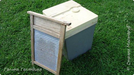 Стиральная машинка ( не рабочая ) под корзину для белья в баньку . фото 2