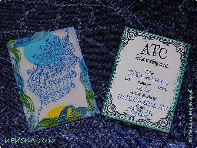 Привет всем гостям моей странички!!! Несколько серий АТС лежат и ждут вдохновения, а эта серия родилась спонтанно. Увидела в магазине открытку с заборчиком и цветами, конечно, там все было из бумаги, а мне захотелось сделать деревянный забор и ярких цветов. Первыми к выбору приглашаю Элайджу и Олечку -  p_olya71, надеюсь что-то понравится :))) фото 19