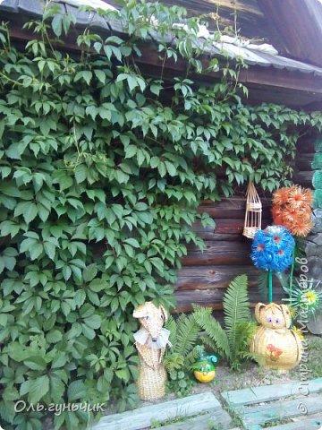 Всем здравствуйте!!! Давненько меня не было...Все лето мы жили на нашей любимой даче. Которую и хочу вам сейчас показать))) Что успели сделать, что еще может быть успеем сделать... Фотографии прошлогодней дачи у меня тут:  http://stranamasterov.ru/node/1050293 Кому интересно загляните))) Итак, это фото нашего палисадника и крылечка, и через который мы попадаем в дом, а потом и в сад... фото 42