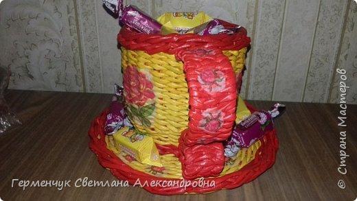 Конфетница - чашка -диаметр блюдца 19 см ,высота 13 см   Большое спасибо   Мастерице   Ладе! фото 24