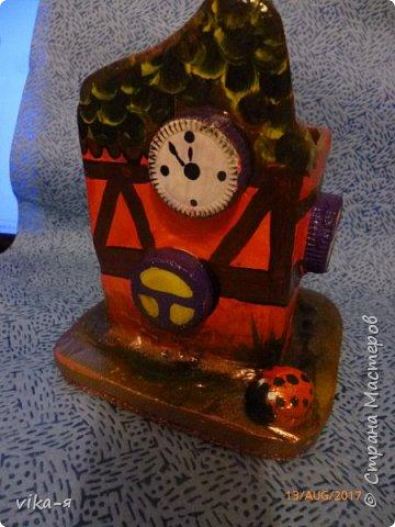 декоративная подставка для карандашей и прочей мелочи.с гнездом фото 12