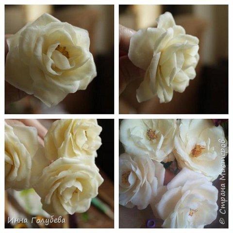 Привет всем жителям страны!!! Я сегодня к вам с плетистыми розами,которые всегда будут красивым дополнением в любом букете. И фото процесса прилагаю) фото 14