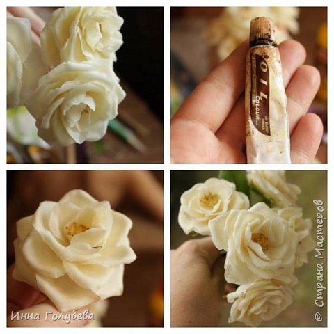 Привет всем жителям страны!!! Я сегодня к вам с плетистыми розами,которые всегда будут красивым дополнением в любом букете. И фото процесса прилагаю) фото 15