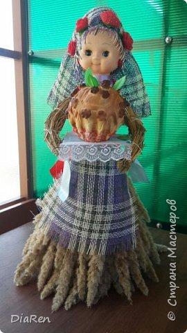 """Вот такую замечательную """"царицу полей"""" сделали в детский сад на праздник, посвященному дню урожая на Кубани."""