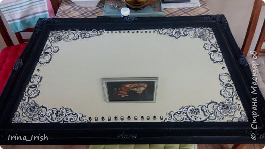 """Вот такое зеркало было изначально, куплено на  рынке, здесь его называют """"из багажника"""" фото 3"""