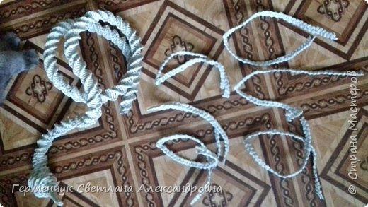 Лебедь -сувенир,упаковка для подарка ,украшение интерьера так можно назвать это изделие .  Размер- высота 29 см ,длина 33 см Увидела идею в Интернете фото 5
