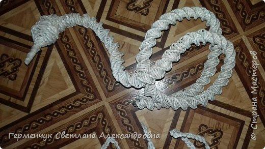 Лебедь -сувенир,упаковка для подарка ,украшение интерьера так можно назвать это изделие .  Размер- высота 29 см ,длина 33 см Увидела идею в Интернете фото 4