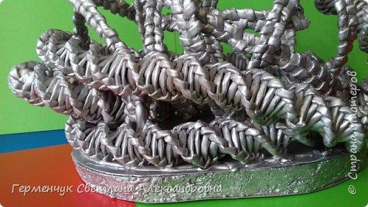Лебедь -сувенир,упаковка для подарка ,украшение интерьера так можно назвать это изделие .  Размер- высота 29 см ,длина 33 см Увидела идею в Интернете фото 15