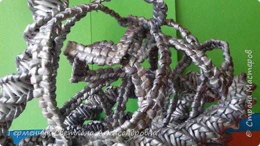 Лебедь -сувенир,упаковка для подарка ,украшение интерьера так можно назвать это изделие .  Размер- высота 29 см ,длина 33 см Увидела идею в Интернете фото 17