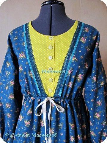 Два года назад я таки приобщила старшую дочь к бохо. http://stranamasterov.ru/node/953255  А недавно у меня спросили, мол, прижился ли бохо у нее в гардеробе? Вот, отчитываюсь)) Новое платье из 5и хлопковых тканей разных расцветок фото 6