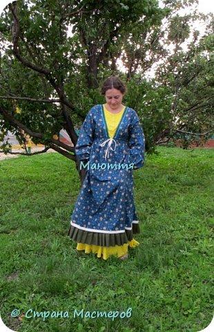Два года назад я таки приобщила старшую дочь к бохо. https://stranamasterov.ru/node/953255  А недавно у меня спросили, мол, прижился ли бохо у нее в гардеробе? Вот, отчитываюсь)) Новое платье из 5и хлопковых тканей разных расцветок фото 4
