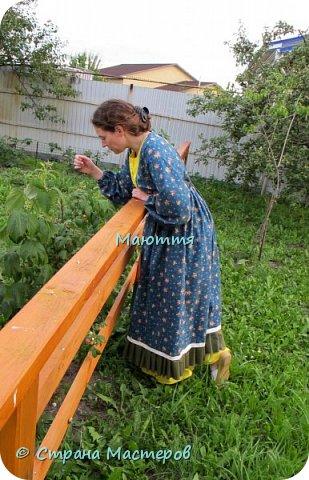 Два года назад я таки приобщила старшую дочь к бохо. https://stranamasterov.ru/node/953255  А недавно у меня спросили, мол, прижился ли бохо у нее в гардеробе? Вот, отчитываюсь)) Новое платье из 5и хлопковых тканей разных расцветок фото 5