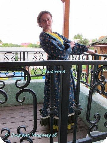 Два года назад я таки приобщила старшую дочь к бохо. https://stranamasterov.ru/node/953255  А недавно у меня спросили, мол, прижился ли бохо у нее в гардеробе? Вот, отчитываюсь)) Новое платье из 5и хлопковых тканей разных расцветок фото 1