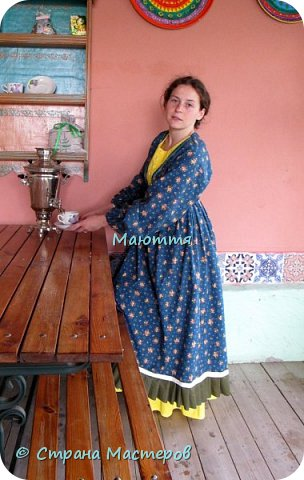 Два года назад я таки приобщила старшую дочь к бохо. http://stranamasterov.ru/node/953255  А недавно у меня спросили, мол, прижился ли бохо у нее в гардеробе? Вот, отчитываюсь)) Новое платье из 5и хлопковых тканей разных расцветок фото 2