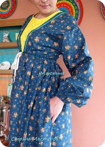 Два года назад я таки приобщила старшую дочь к бохо. https://stranamasterov.ru/node/953255  А недавно у меня спросили, мол, прижился ли бохо у нее в гардеробе? Вот, отчитываюсь)) Новое платье из 5и хлопковых тканей разных расцветок фото 3