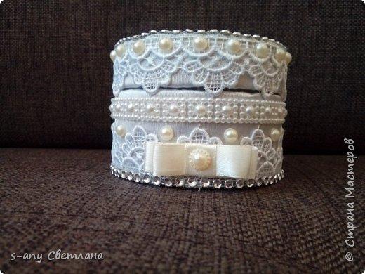 свадебный набор для любимой племянницы. Что успела... фото 17