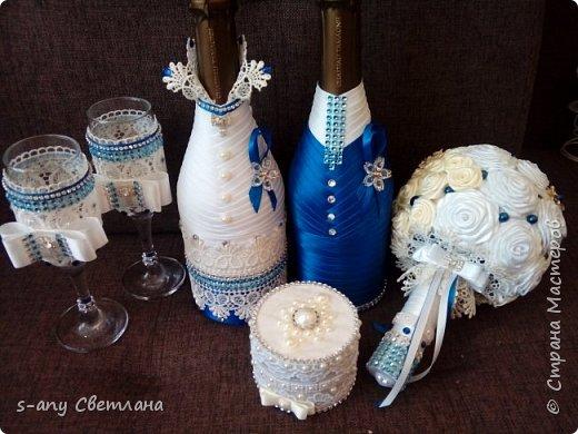 свадебный набор для любимой племянницы. Что успела... фото 25