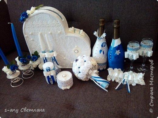 свадебный набор для любимой племянницы. Что успела... фото 1