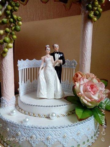 Заказали скульптуру на свадьбу. Перерыла весь интернет, очень понравилась арка Ирины Цыбун. Спасибо, Ирина! фото 4