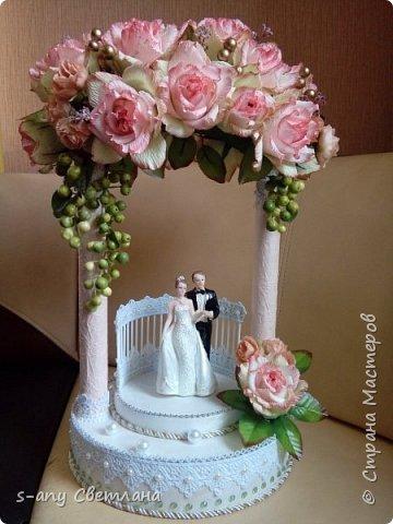 Заказали скульптуру на свадьбу. Перерыла весь интернет, очень понравилась арка Ирины Цыбун. Спасибо, Ирина! фото 1
