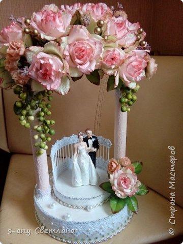 Заказали скульптуру на свадьбу. Перерыла весь интернет, очень понравилась арка Ирины Цыбун. Спасибо, Ирина! фото 5