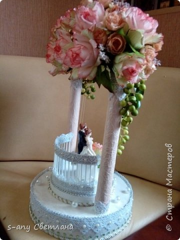 Заказали скульптуру на свадьбу. Перерыла весь интернет, очень понравилась арка Ирины Цыбун. Спасибо, Ирина! фото 2
