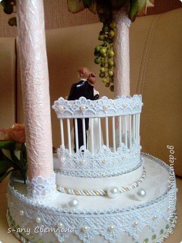 Заказали скульптуру на свадьбу. Перерыла весь интернет, очень понравилась арка Ирины Цыбун. Спасибо, Ирина! фото 3