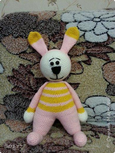 Интерьерная вязанная кукла фото 12