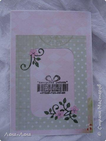 Детские открыточки в розовом фото 2