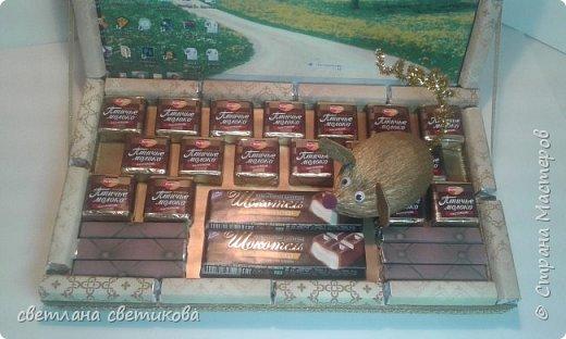 Ноутбук из конфет и шоколадок. фото 2