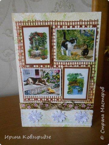 """Две открытки """"На даче"""" фото 2"""