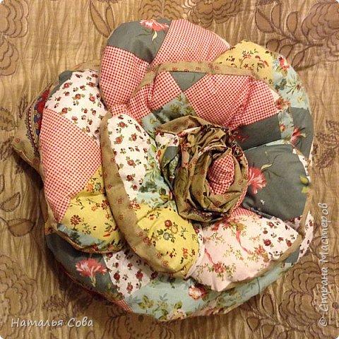 Подушка роза фото 1