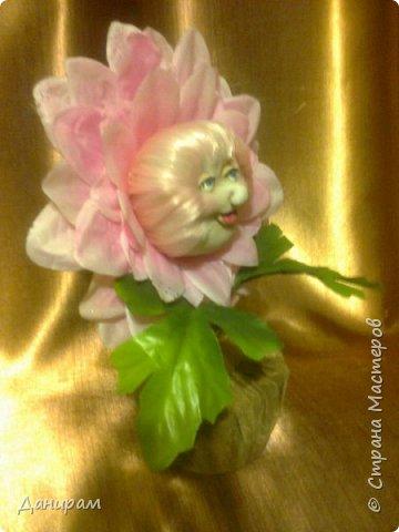 Здравствуйте! Вот такой цветочек у меня вышел. фото 2