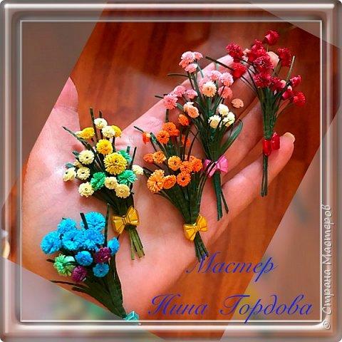 Я очень люблю мелкие работы, много деталей. Когда крутила цветочки и видела, как заполняется коробочка- была просто счастлива))) Вот и получилось ДЕРЕВЦЕ СЧАСТЬЯ!))) фото 3