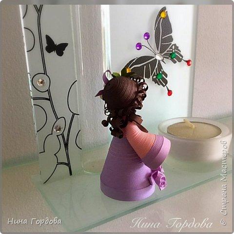 Как-то раз моя сестра прислала мне несколько фото куколок Любови Грасмик - великолепные работы! А сестра собираетколлекцию миникукол из разных материалов.. меня захватила эта идея! Хочется попробовать свои силы))) Вчера приступила! Это пробная куколка,  фото 6