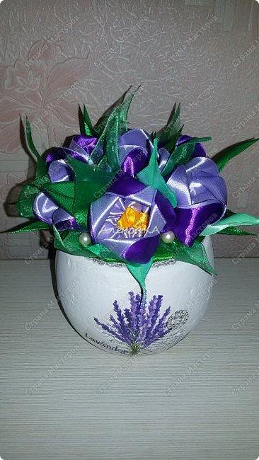 Такой горшочек с тюльпанами сделала в подарок фото 1