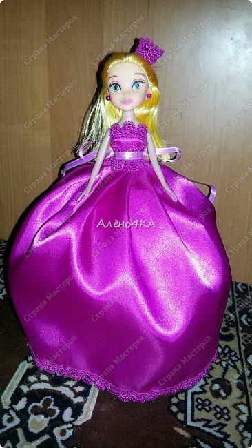 Сделано для девочки, которая обожает принцесс и очень любит розовый цвет ))) фото 1