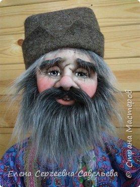 Старец был замечен у моих ворот))) Приоделся тёпленько, видать к осени. фото 4