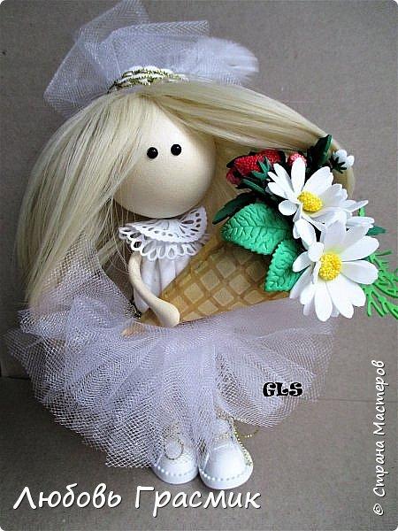 Уставшая, но довольная :-)  завтра , конечно, найду кучу недостатков... но пусть это будет завтра , а сегодня моя первая куколка из фома фото 7