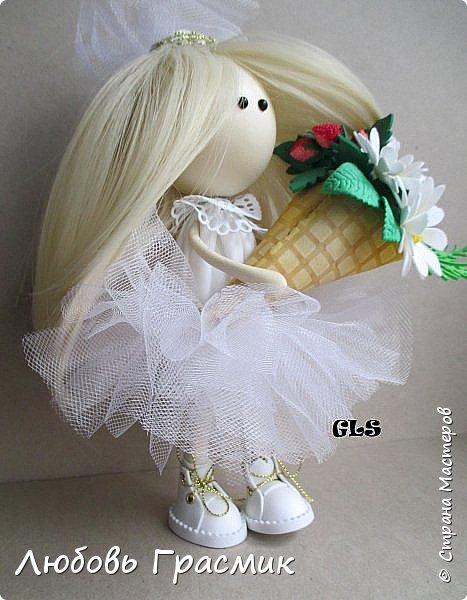 Уставшая, но довольная :-)  завтра , конечно, найду кучу недостатков... но пусть это будет завтра , а сегодня моя первая куколка из фома фото 6