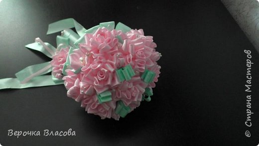 Свадьба в розово-мятном цвете фото 1