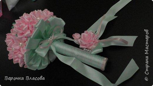 Свадьба в розово-мятном цвете фото 2
