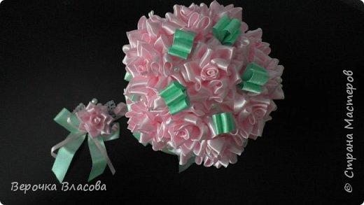 Свадьба в розово-мятном цвете фото 4
