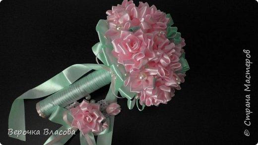 Свадьба в розово-мятном цвете фото 5