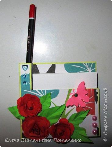 Мои первые шаги в скрапбукинге - это подарочки коллегам на 8 Марта! фото 7