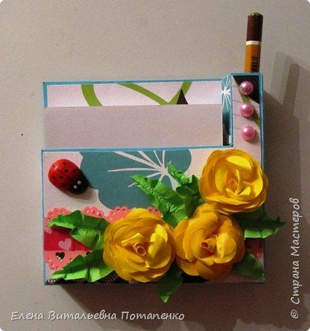 Мои первые шаги в скрапбукинге - это подарочки коллегам на 8 Марта! фото 8
