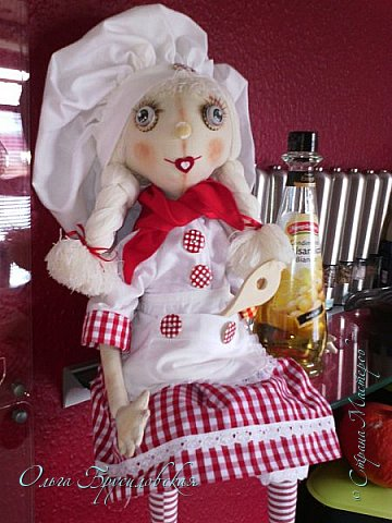 """Привет всем в СМ!!! Кукломания - болезнь! Болезнь творческая!!! И я счастлива, что болею этой болезнью!!! Моя новая куколка Розочка! Я и шила ее как куклу-цветок для конкурса в Инстаграм """"Куколка-цветочек"""", ну и имя у нее, конечно, Розочка! Именно Розочка, а не просто Роза. фото 11"""