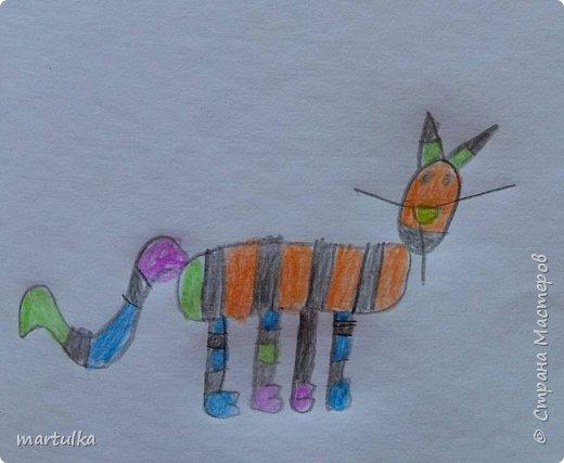 игрушка,  сшитая по рисунку ребенка....))) фото 2